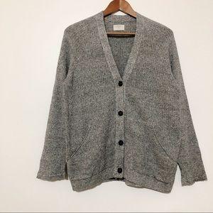 Billy Reid Classic Oversized Cardigan Sweater